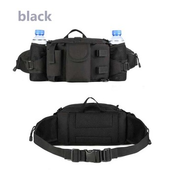 faae9be7d70 Military Tactical Waist Pack Pouch With Water Bottle Pocket Holder  Waterproof Molle Fanny Hip Belt Bag,Sport Waist Bag - Buy Gym Sports Hiking  Waist ...
