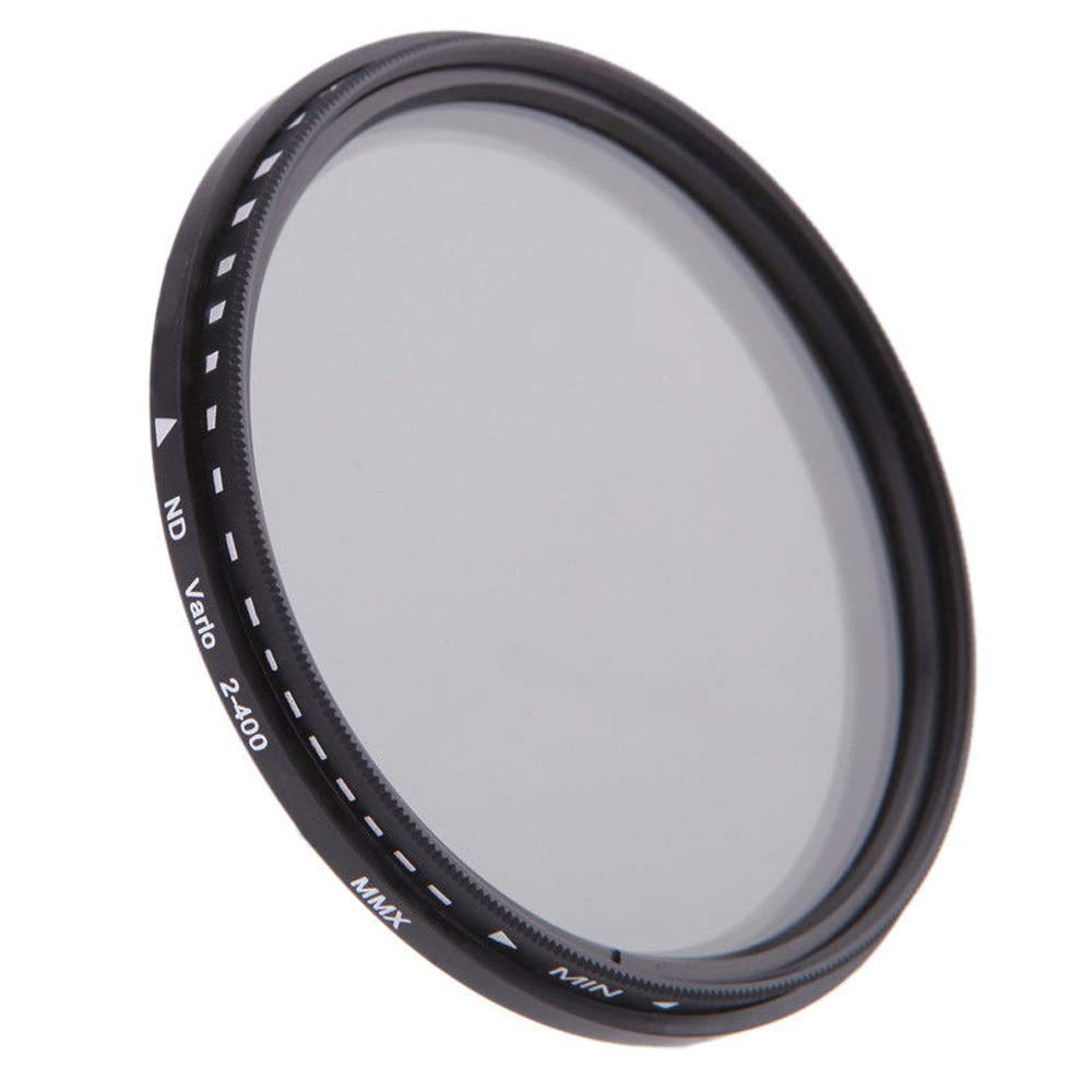 ND Thin Filter Yunchenghe ND Filter 40.5mm ND2-ND400 ND Variable Filter Adjustable Grayscale Filter ND fine Gray Filter HD Neutral Gray Filter Suitable for ND2 to ND400