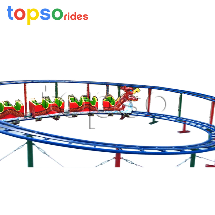 Mini Cheap Roller Coaster, Roller Coaster for Sale, Small Roller Coaster Car [HENAN TOPS RIDES] фото