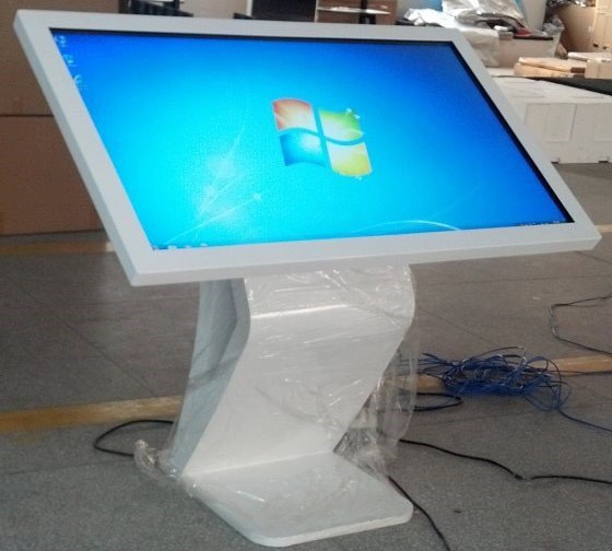 65inch LED multi touchscreen table, touch screen computer monitor table