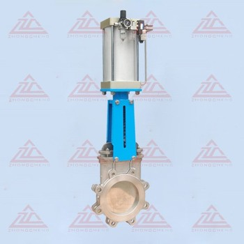 Pneumatic Stainless steel knife gate valve