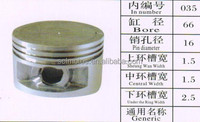 SCL-2013072082 high quality motorcycle 66mm piston kit for YAMAHA