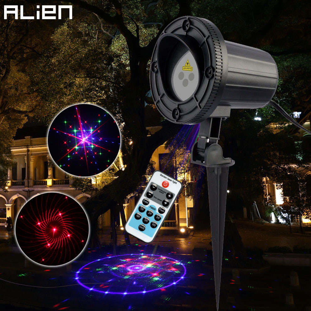 Outdoor Garden Laser Spot Lights For House Trees