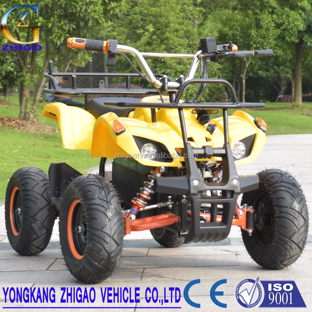 2017 Mini Electric ATV Quads 350W , 500W ,800W 48v brushless For KIDS