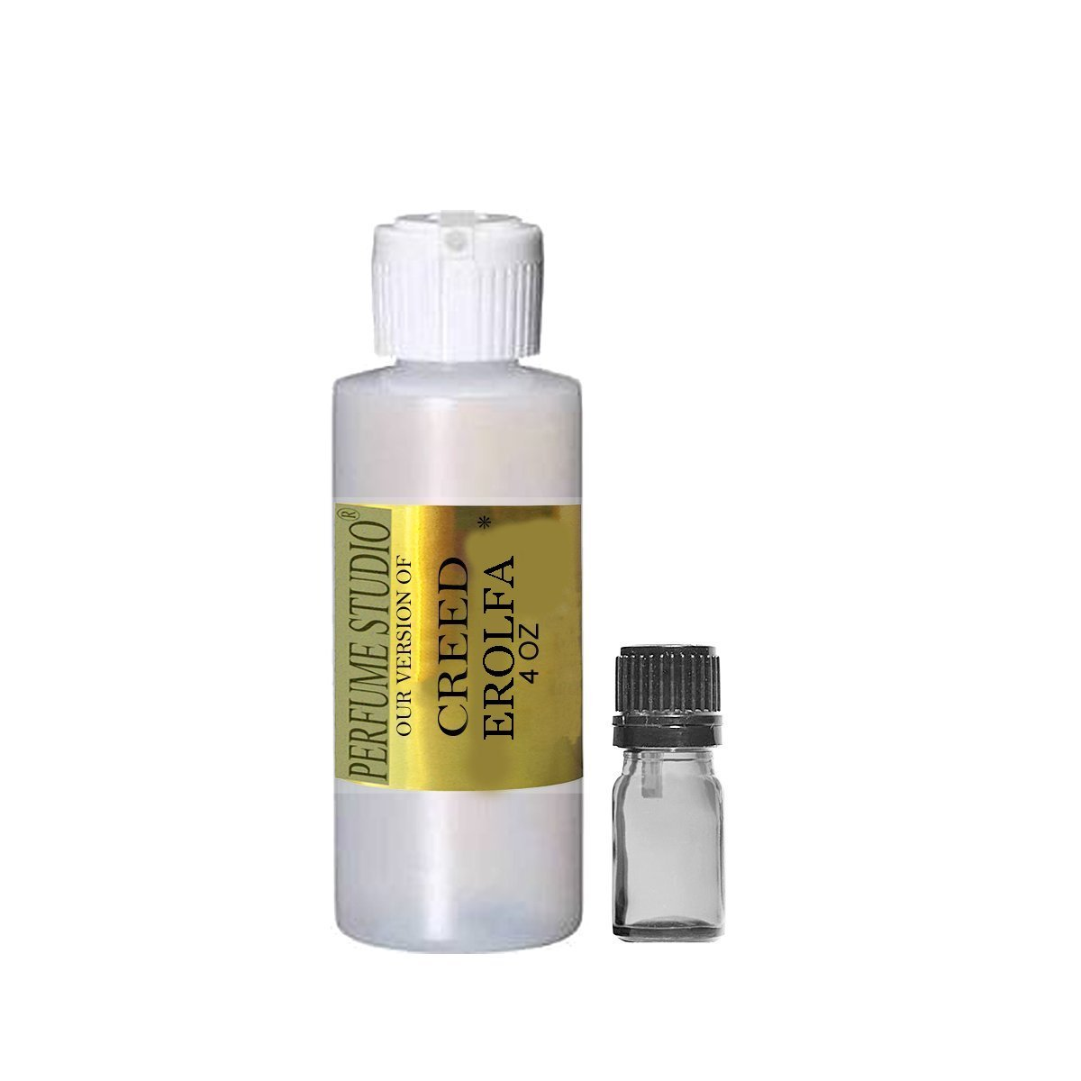 Premium IMPRESSION Perfume Oil Wholesale, SIMILAR Fragrance Accords to Famous Designer Brands - 100% Pure Undiluted, No Alcohol, Free 5ml Empty Glass Euro Dropper (CREED EROLFA IMPRESSION, 4OZ)