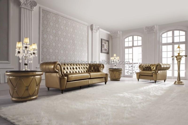 ls168 luxus gold/weiß/metall leder kristall-taste moderne ... - Wohnzimmer Weis Gold