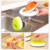 Promotion items with logo kitchen cleaning sponge brush build-in dishwashing liquid capsule