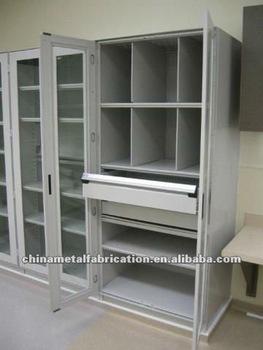 Economic Lockable Sanitary Stainless Steel Hospital Storage Cabinet