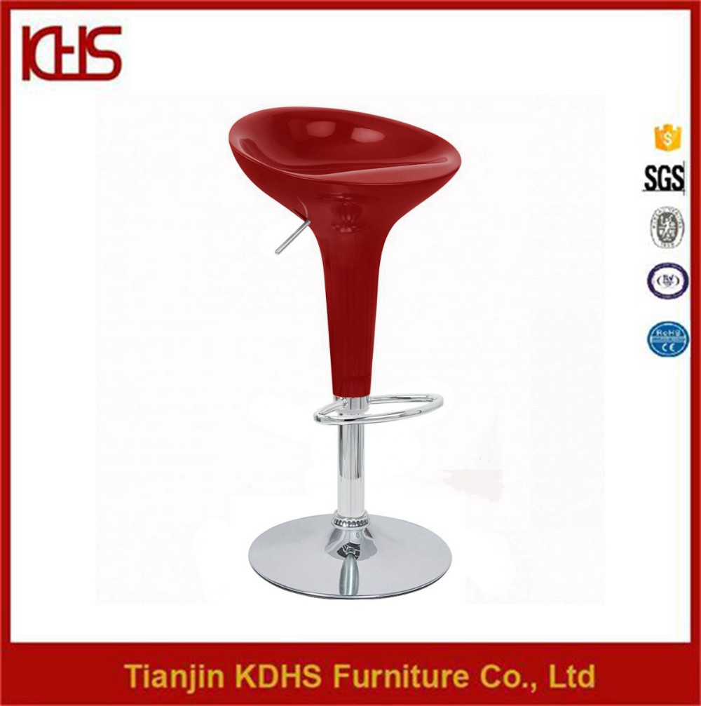Wholesale Cheap Plastic And Chrome Bar Stools Made In