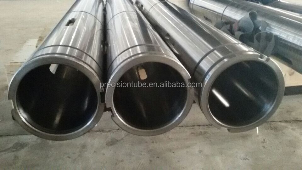 machined steel tube spare parts