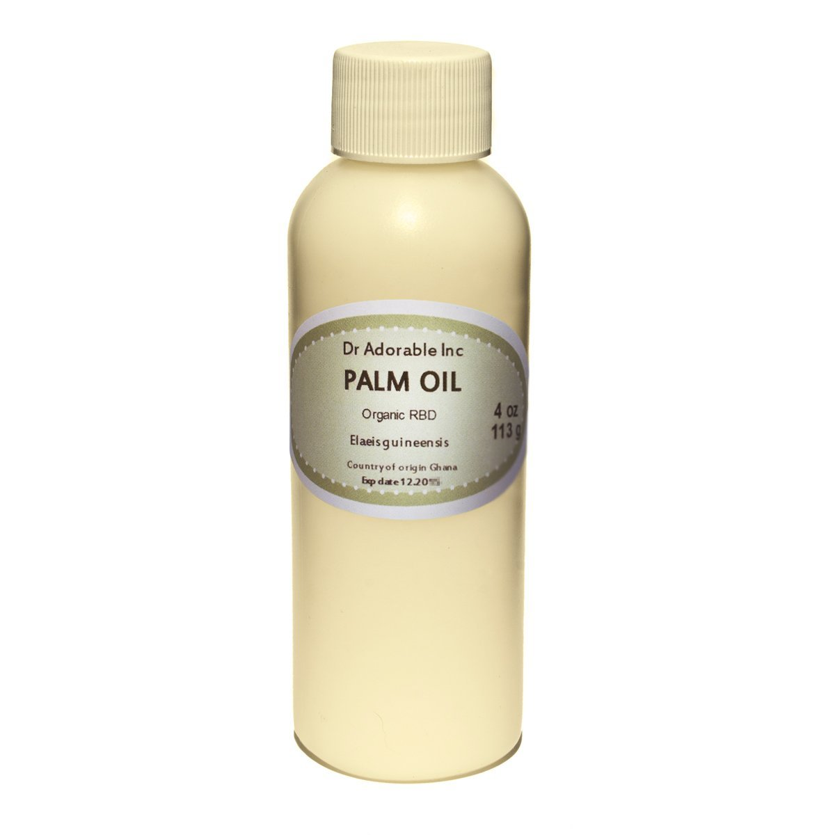 Palm Oil Pure Cold Pressed Organic 4 Oz