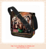 lorry bag with fashional design waterproof tarpaulin shoulder bag school shoulder bag