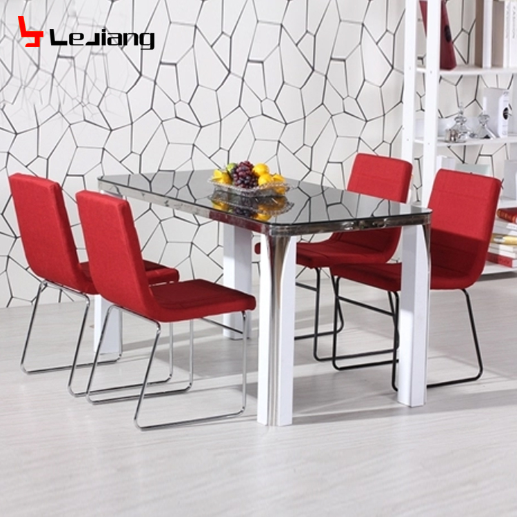 Free Sample Chair Room Modern Wood Classic Top 6 Royal Marble Bisini Dining Table Set