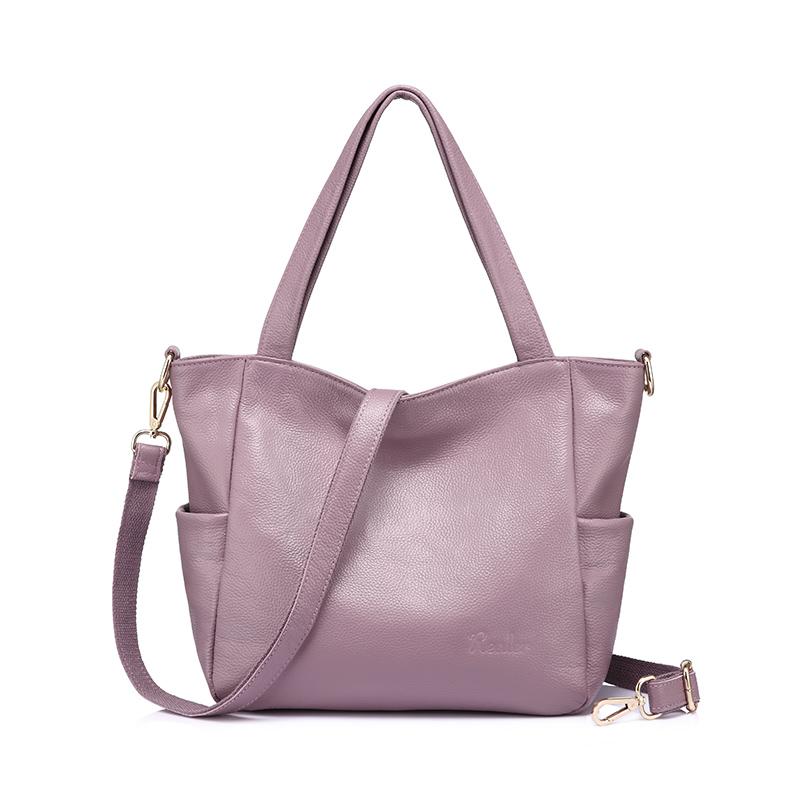 Realer сумки-мессенджеры женские сумки из натуральной кожи сумка на плечо модная простая женская сумка через плечо на Молнии Большая вместите...(Китай)