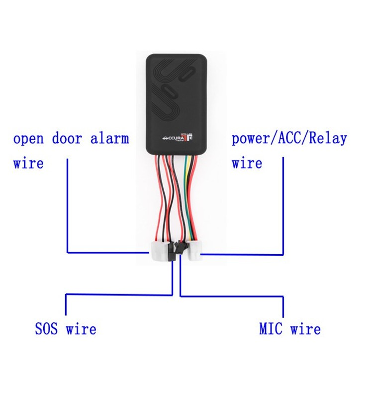Hot sell gps tracker without sim card with call alarm gt06