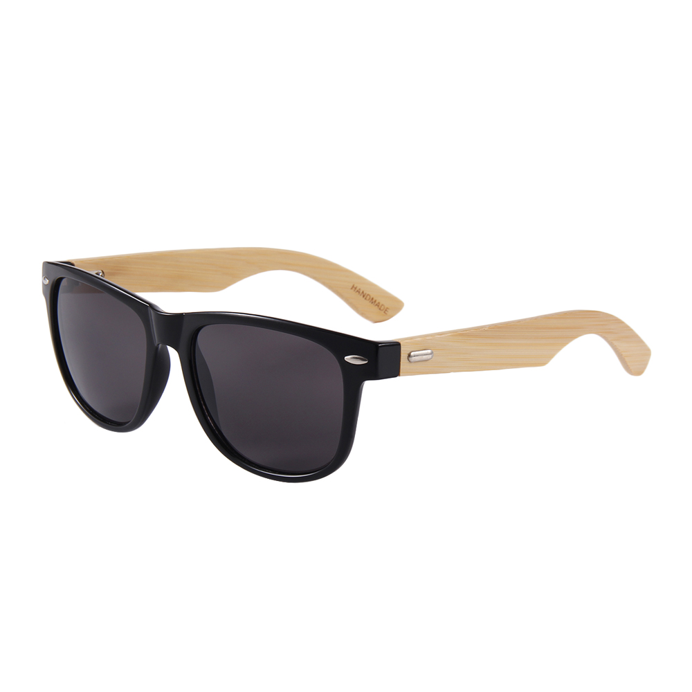 wholesale <strong>Custom</strong> promotional sunglasses bamboo <strong>shades</strong>