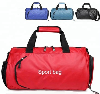 Large capacity men women sports waterproof gym bag with laptop compartment 1499083b9f740