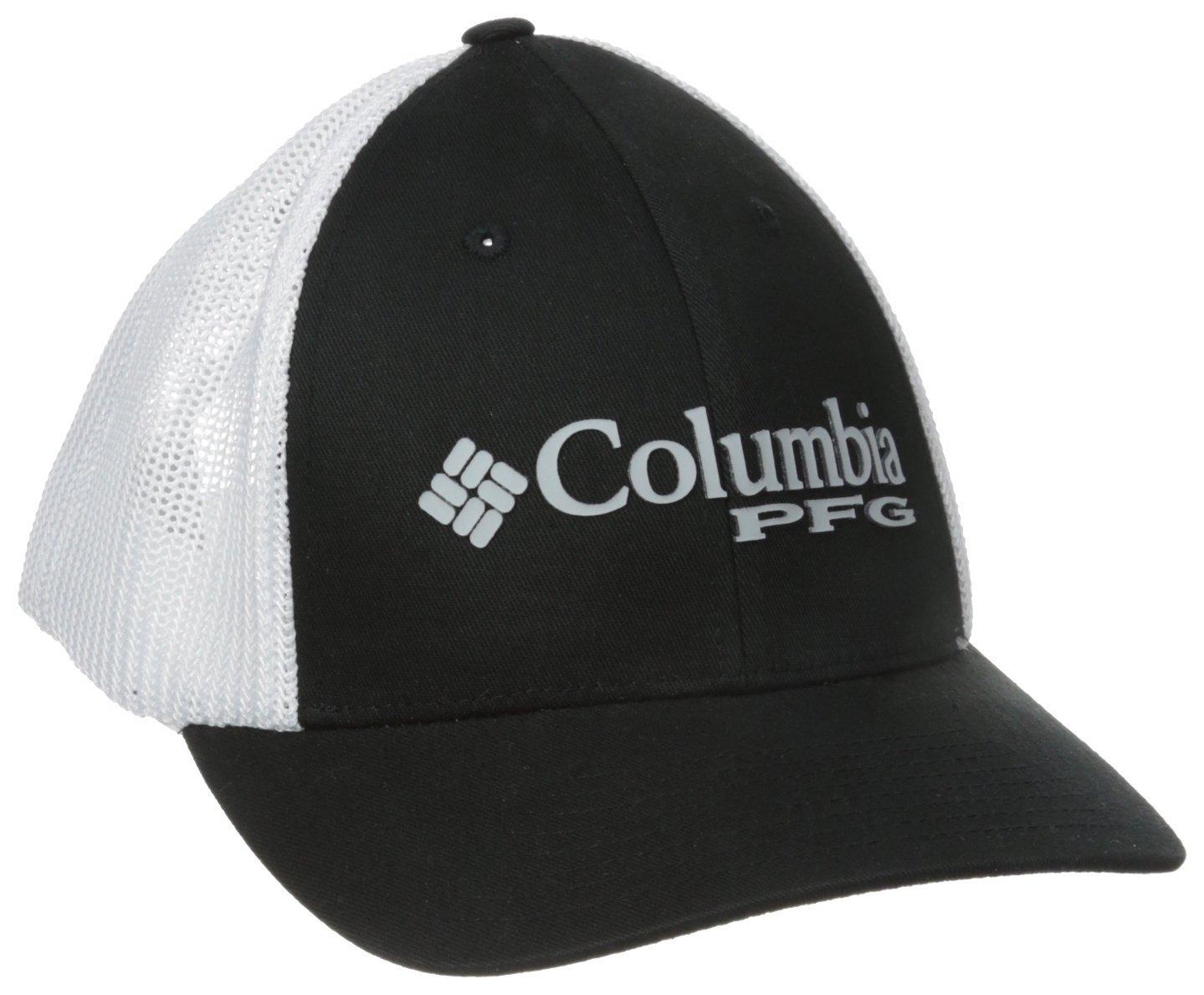 ed57b898507 Get Quotations · Columbia Men s PFG Mesh Snap Back Ball Cap