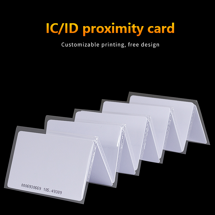 Wholesale high quality contact or contactless inkjet printable PVC blank smart chip card