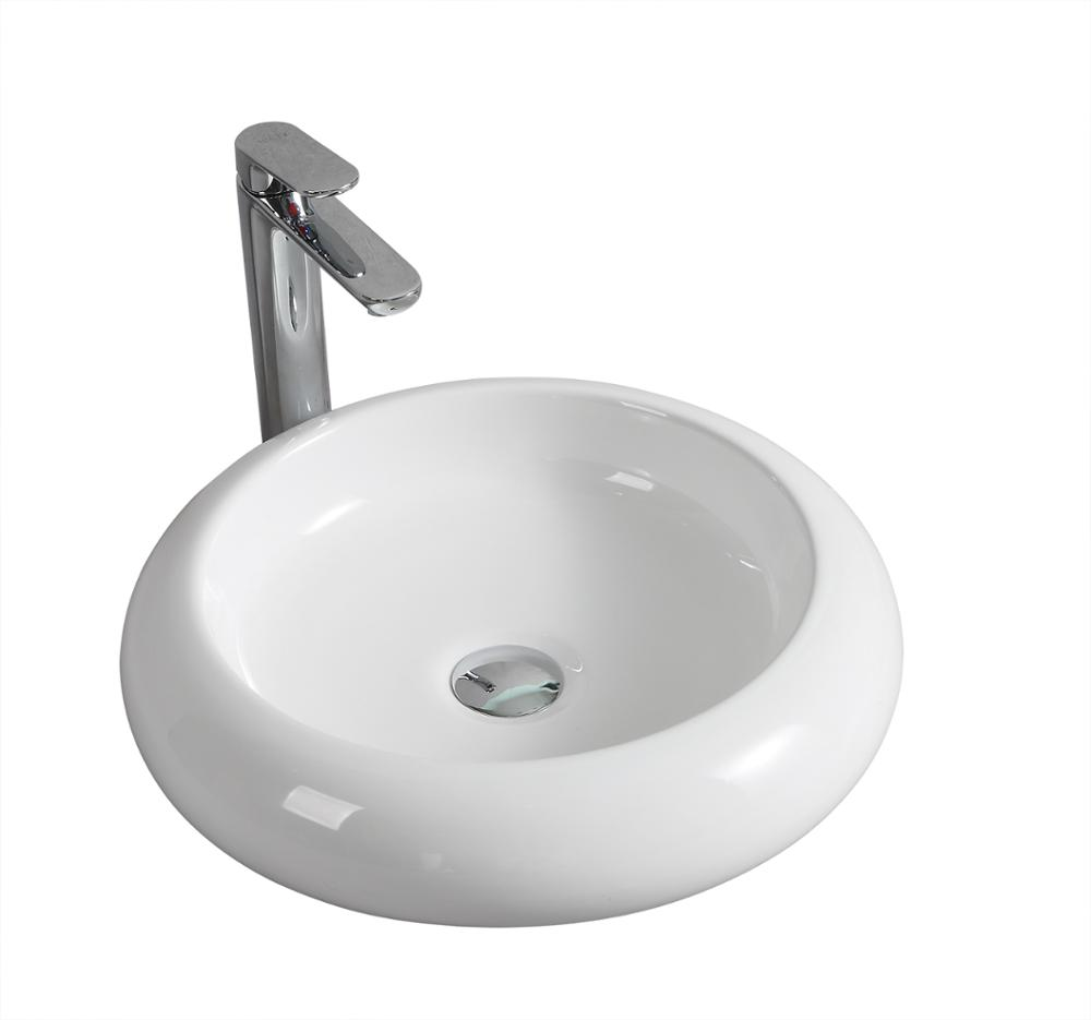 Bathroom Small Round Marble Sinks Black Wash Hand Basin Handwash Sink Over Toilet