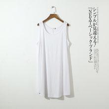 Женское ночное платье без рукавов Fdfklak, короткая летняя ночная рубашка из хлопка, женская ночная рубашка размера плюс, ночная рубашка, для же...(Китай)