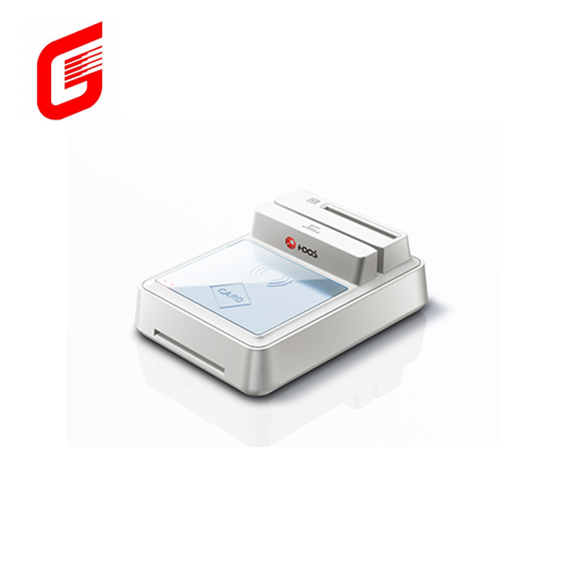 สีขาว Contact non-contact multi-card reader