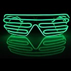 2017 shutter shades sound activated Flashing glasses for Nightclub party Decoration