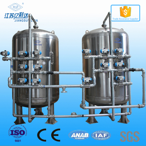 Stainless Steel Sand Filter/Activated Carbon Media Filter Tanks For Water Treatment
