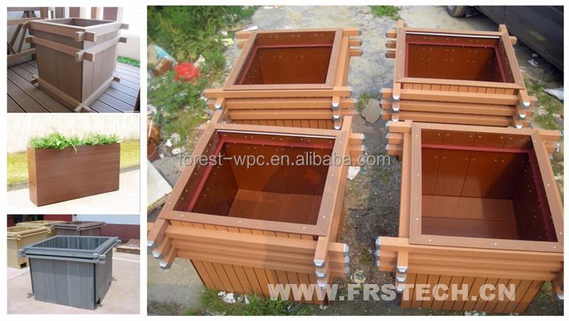 xxmm frstech diseo de madera jardn maceta madera compuesto plstico jardn cobertizo tarrington casa jardn muebles