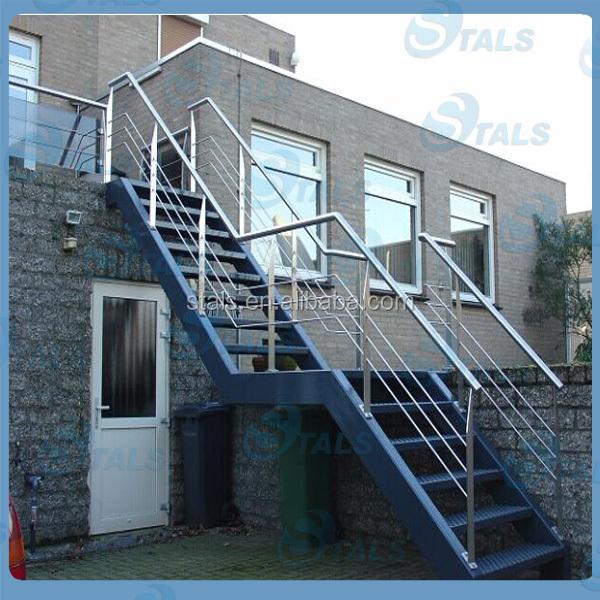 Pasamanos de hierro forjado para escaleras utilizado - Escaleras de hierro para exterior ...