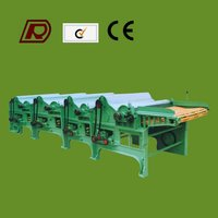 RD250 four roller Textile waste recycling machine