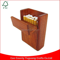 Custom Woodcraft Handcrafted Rosewood Wooden Cigarette Box for 20 Smokes