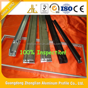 Wow!! Factory Price Aluminum profile for glass panel, whiteboard/ anodized aluminium frame for mirror