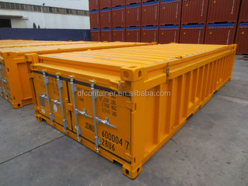 20' half height open top container marine shipping unit CSC certificate special purpose