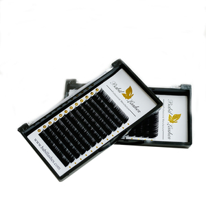 Hand Made Luxury Black Matte Individual Eyelash Extension