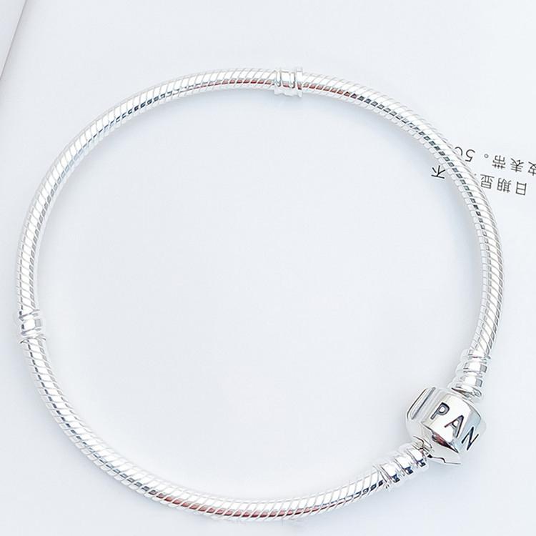 Factory wholesale fit Pandora Silver Bracelet with Silver Clasp