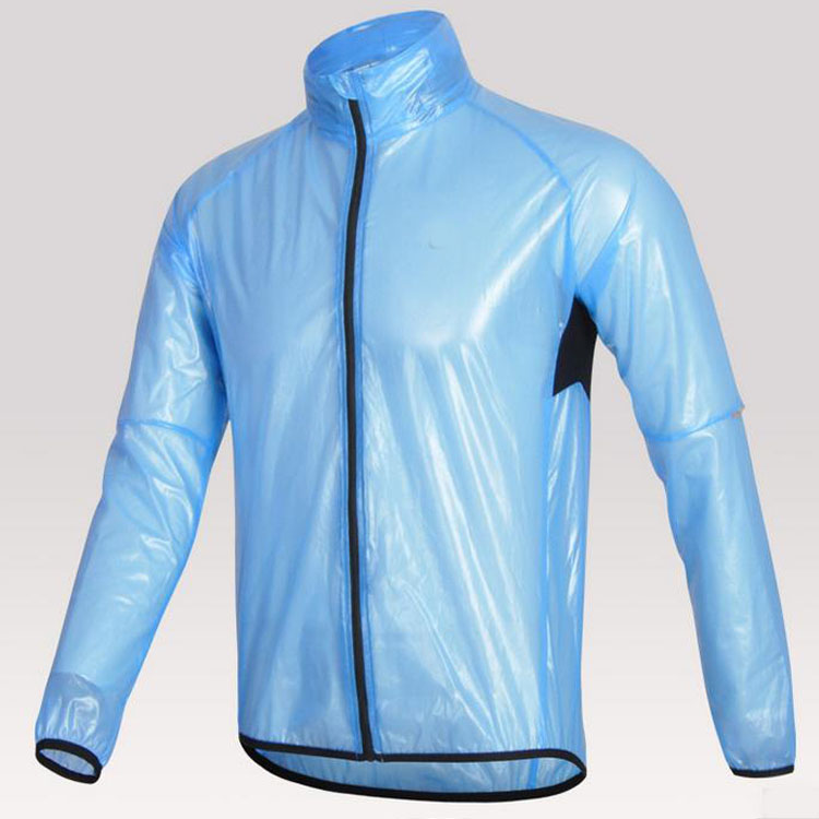 Custom EVA waterproof girls long promotion rain jacket foldable raincoat