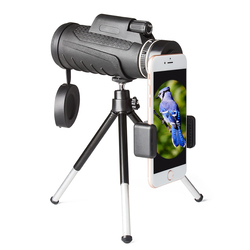 Christmas gift for children 16X50 a telescope lens zoom lens with the tripod for mobile phone festival gift for kids