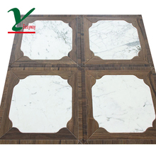 Easyway white marble mosaic tile picture
