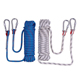 Multi-functional durable climbing, traction, lifesaving rope
