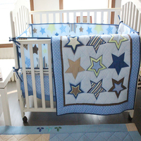Super Soft Cotton Baby Girl Nursery Bedding