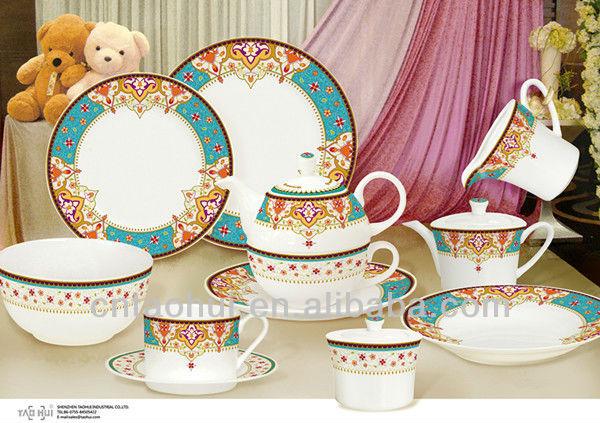 Royal Fine Bone China Dinner Set - Buy Fine Porcelain Dinner SetLuxury Fine China Dinner SetElegant Dinner Set Product on Alibaba.com & Royal Fine Bone China Dinner Set - Buy Fine Porcelain Dinner Set ...
