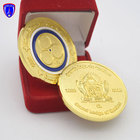 Gold plated sandblasted maple leaf coin 3d metal souvenir coins with customized logo