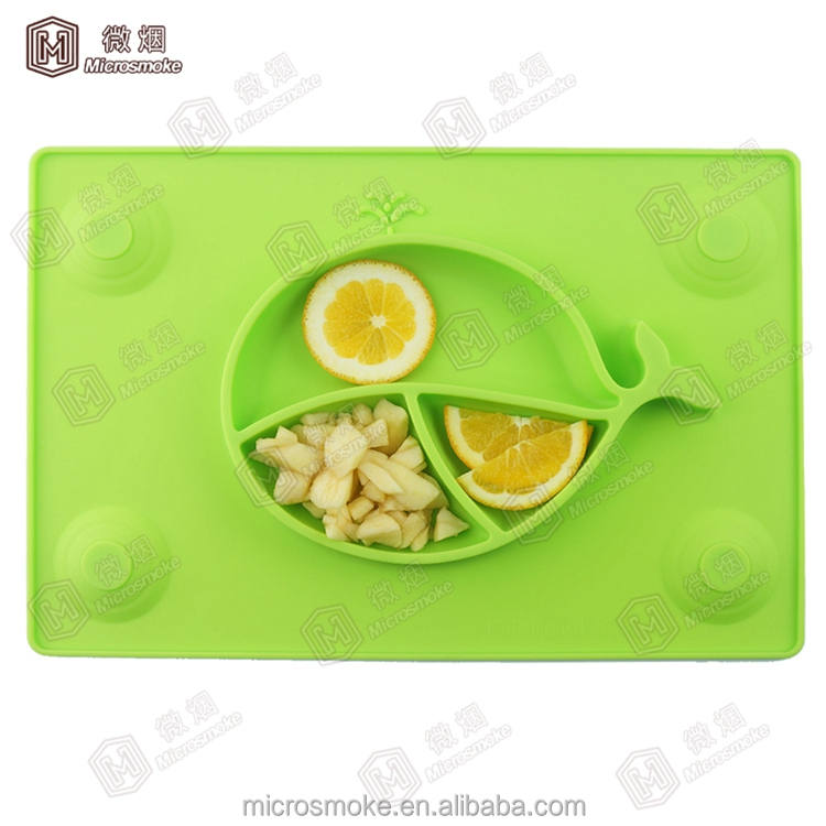 Custom Infants feeding Bowl Slip-resistant plastic silicone Tableware Set Baby Bowl With Sucker