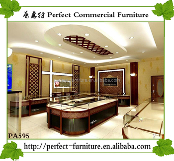 Wholesale Showcase For Jewelry Store Interior Design Used Shop