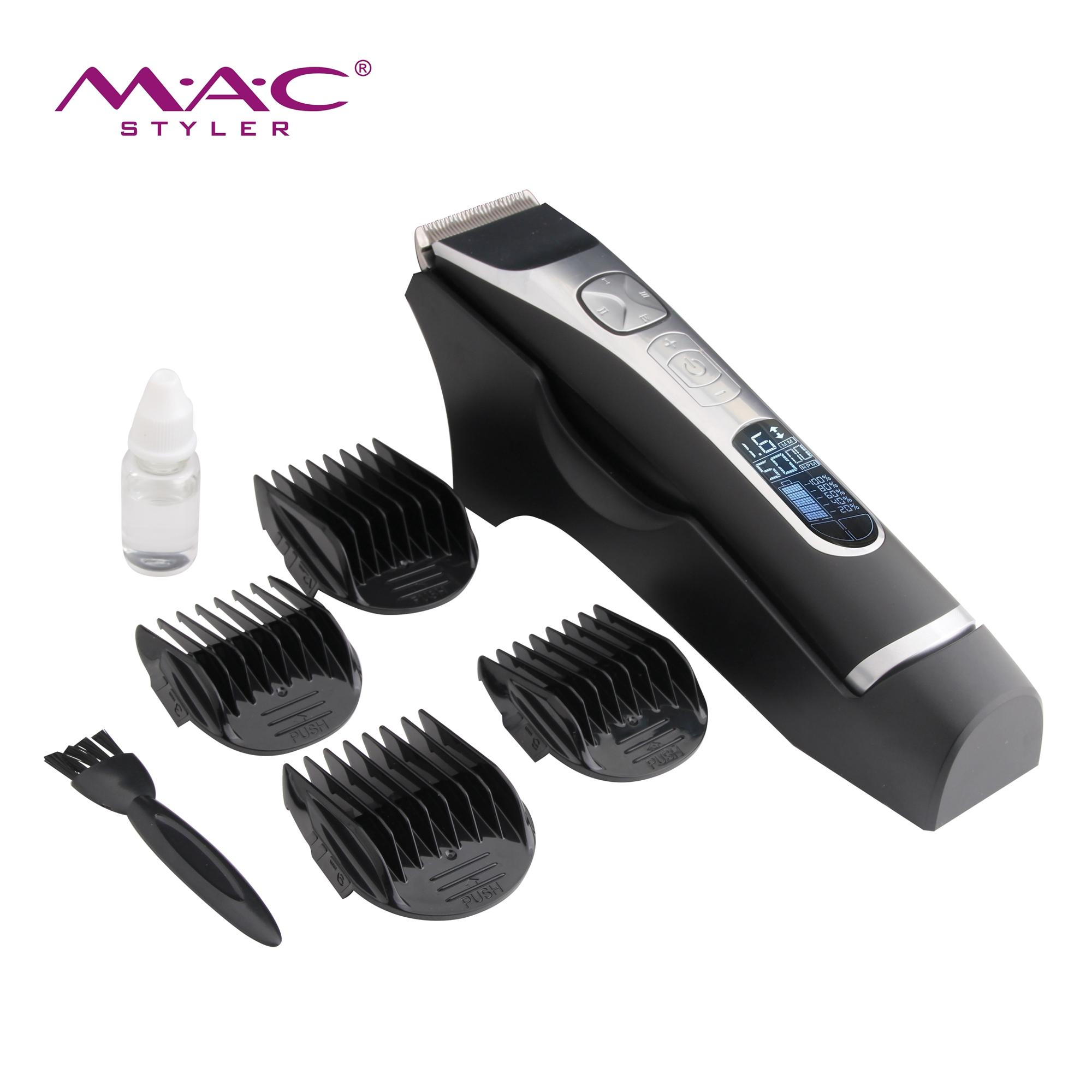 High sales low noise professional  hair cutter trimmer electric cordless barber shop trimmer