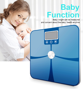 High technology 180kg ITO Multiple personal digital bathroom body fat weighing scale