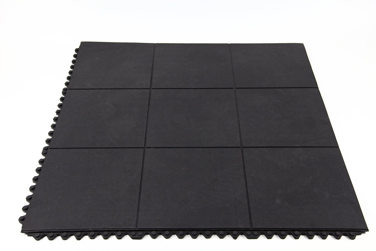 Incstores Evolution Rubber Floor Tiles - Equipment Mats, Gym Flooring and Utility