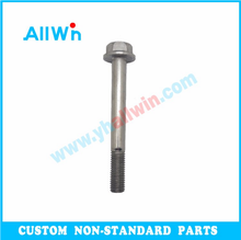 Customized Hardware carbon steel T bolt Fasteners Hex Flange Bolt