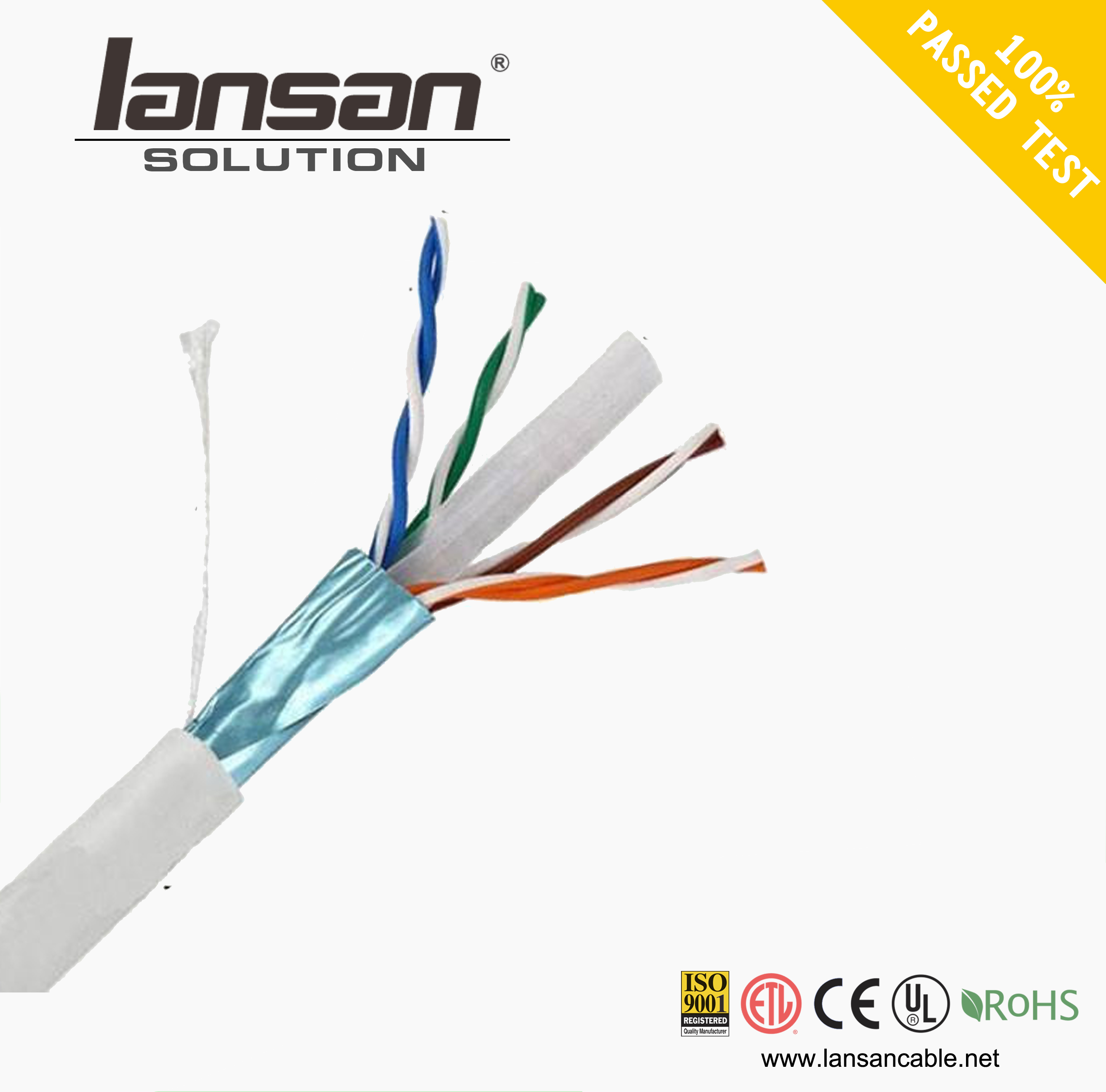 High quality machine grade lan and wan cable fftp cat6a made in shenzhen Sold On Alibaba